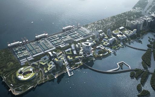 """Tencent vai construir """"smart city"""" para integrar escritórios e moradias para funcionários"""