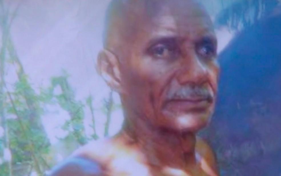 Salvador Souza Santos, de 68 anos, ficou três dias desaparecido (Foto: Reprodução / TV Bahia)