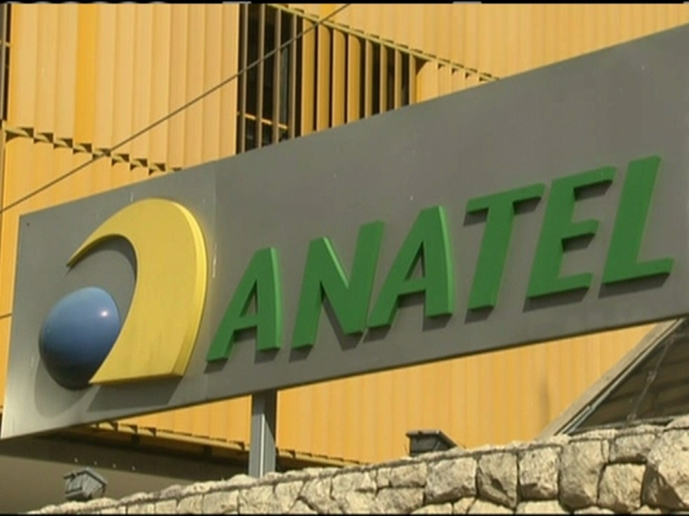 -  Fachada de sede da Anatel.  Foto: Reprodução / Globo News