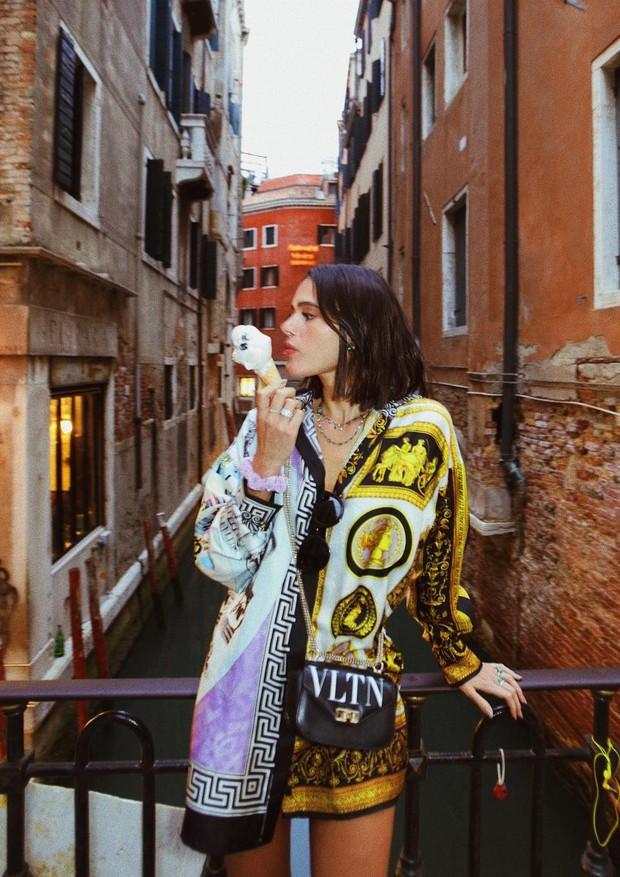 Bruna Marquezine em Veneza (Foto: Reprodução/ Instagram)