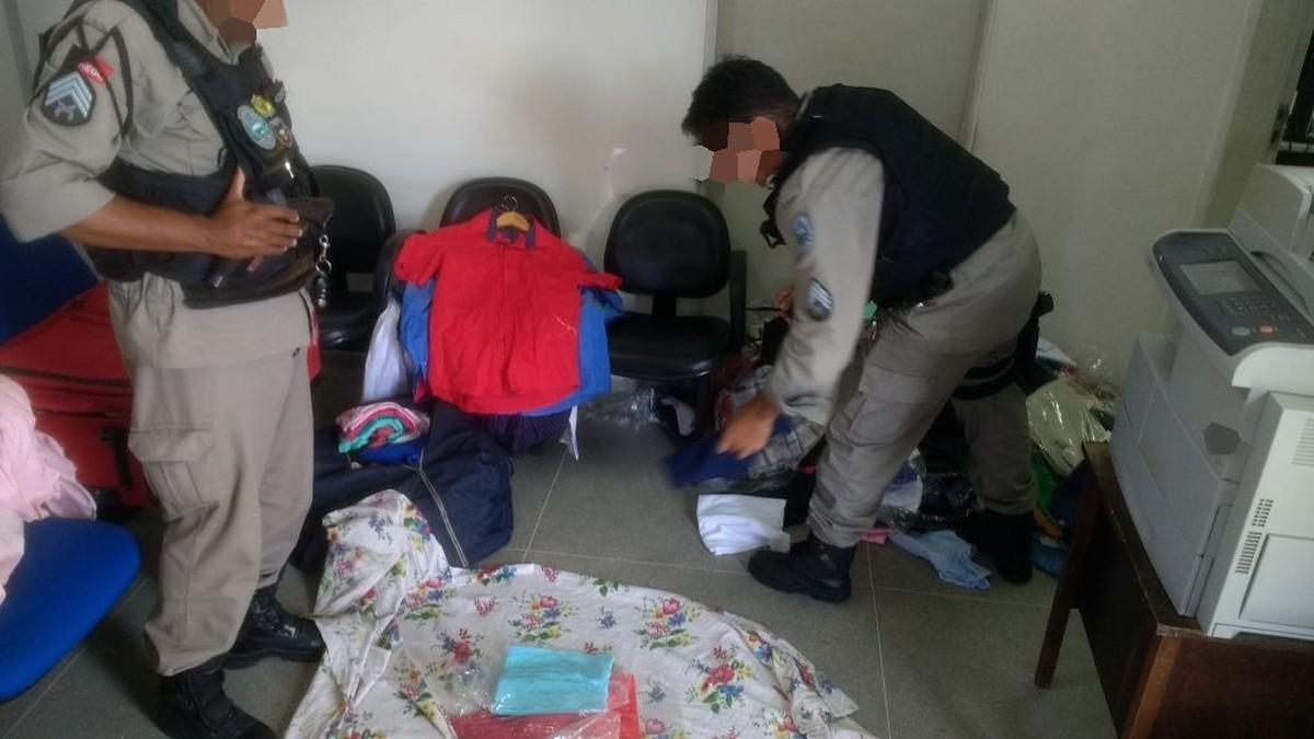 Homem é preso em Campina Grande com mais de 200 peças de roupa roubadas