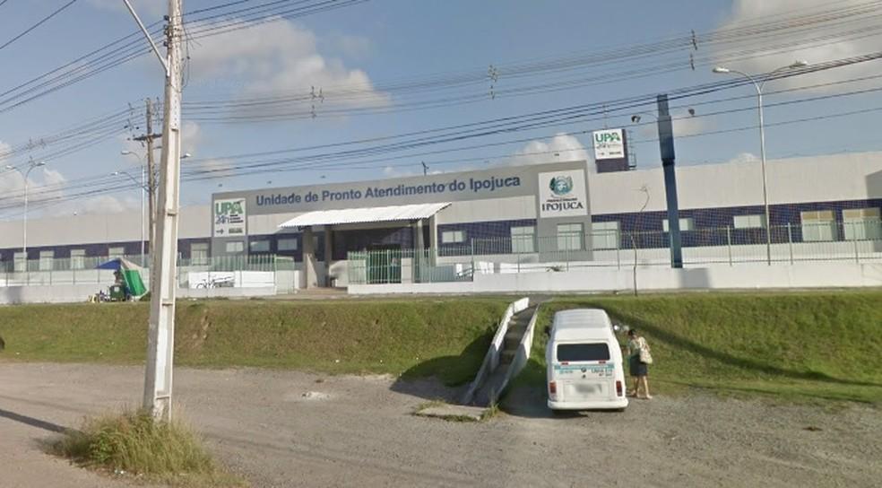 UPA fica em Ipojuca., no Grande Recife — Foto: Reprodução/Google Street View