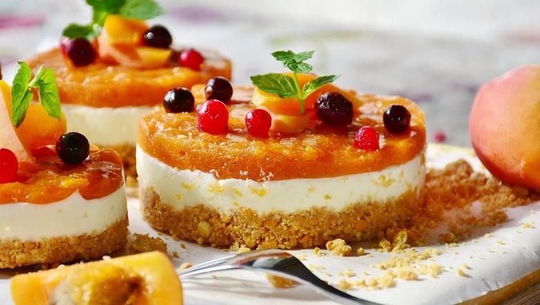 Minicheesecakes de frutas (Foto: Pixabay/Creative Commons)