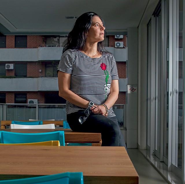Silvia Valadares, uma das fundadoras da startup Owl Docs (Foto:  Rogério Albuquerque)