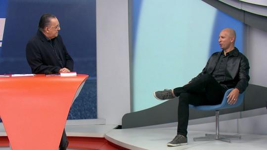 No Bem Amigos, Fábio Júnior é apresentado como novo comentarista do Grupo Globo