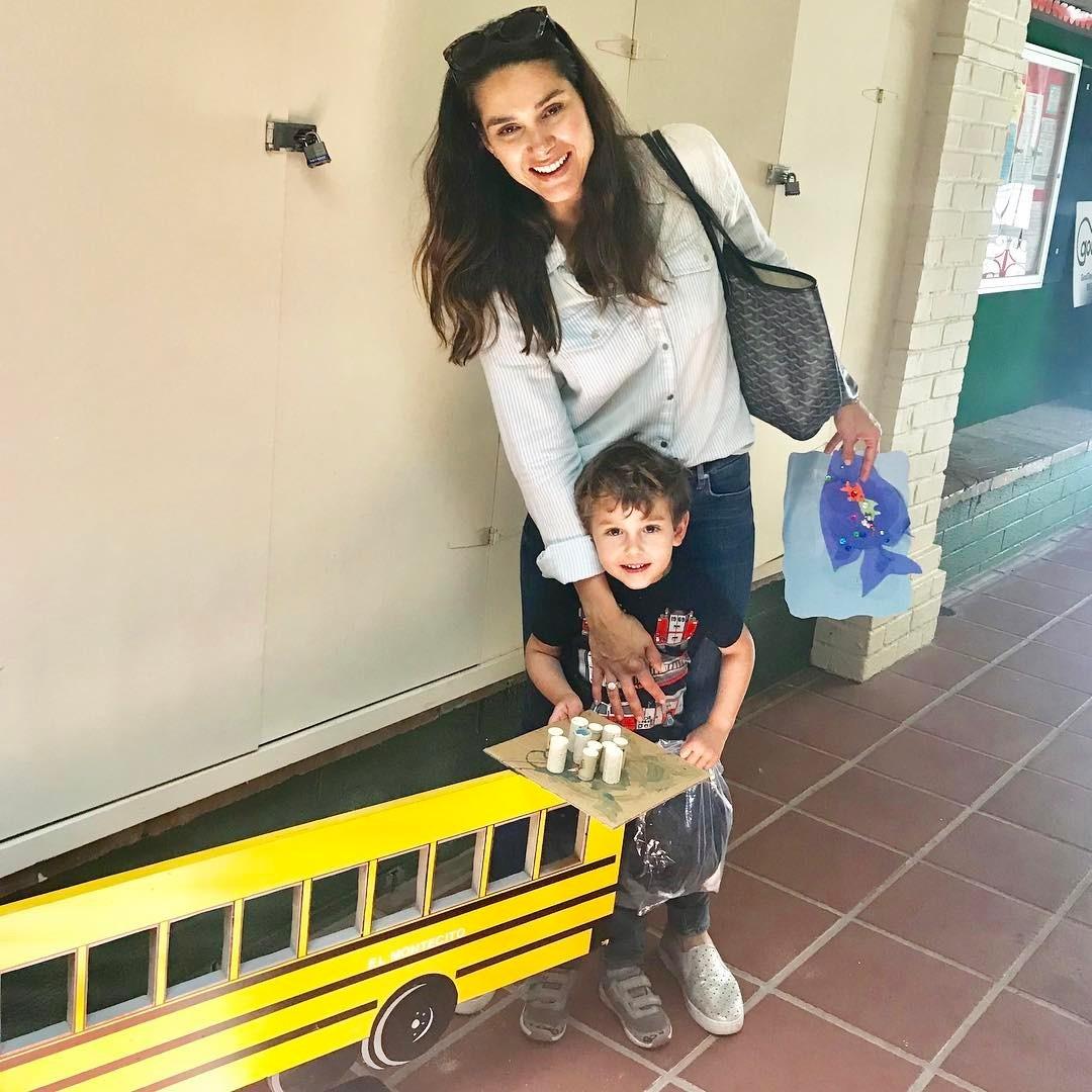 Fernanda cuida sozinha de Lucca. Ele vai para a escola, mas a atriz optou por não contratar uma babá (Foto: Reprodução/Instagram)