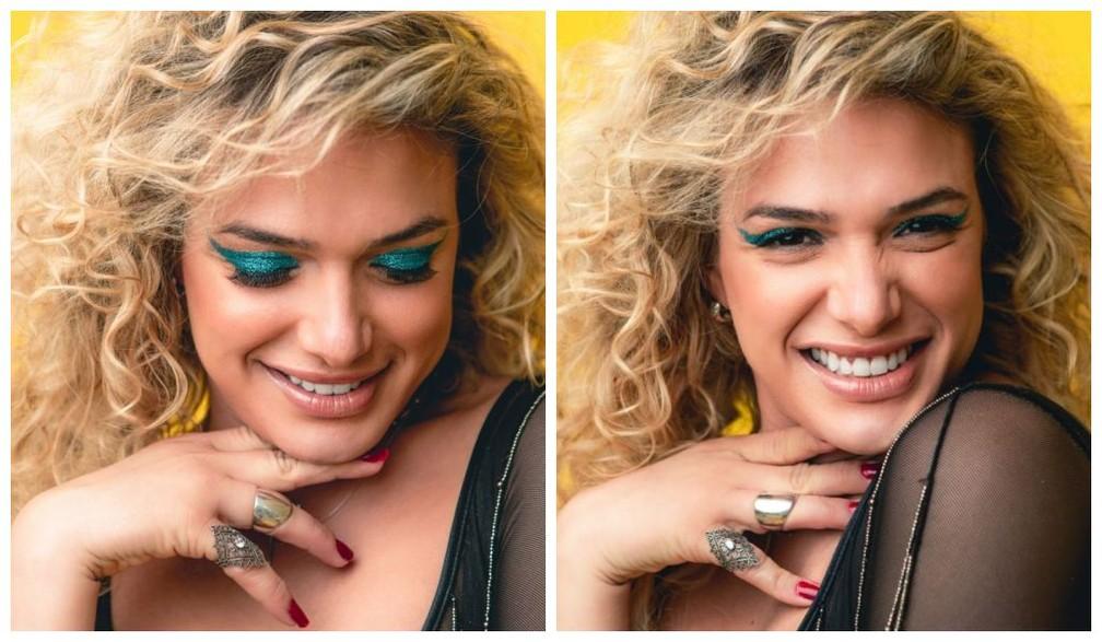 Glamour Garcia está pronta para a folia — Foto: Fabiano Battaglin/Gshow