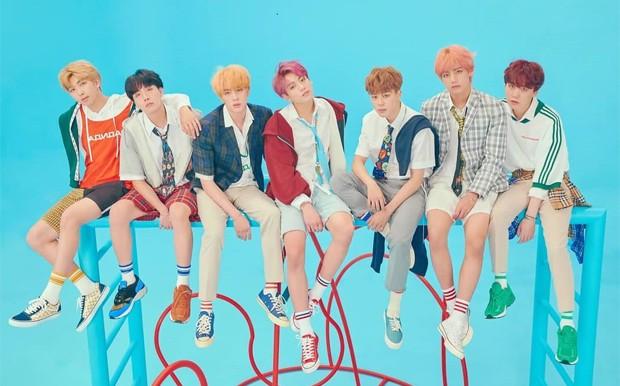 O grupo de k-pop BTS (Foto: Reprodução/Instagram)