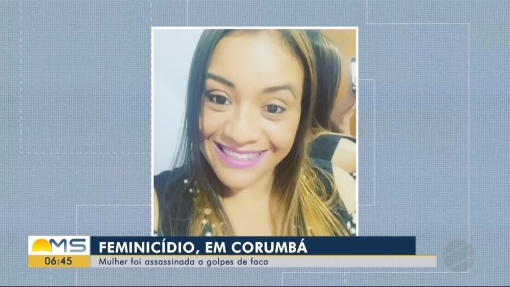 Professora Nádia foi morta por 36 facadas pelo ex-companheiro em MS — Foto: Reprodução/TV Morena