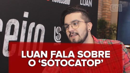 Luan Santana diz que apresentar 'SóTocaTop' sem experiência é vantagem: 'Se aprender demais, perde a graça'