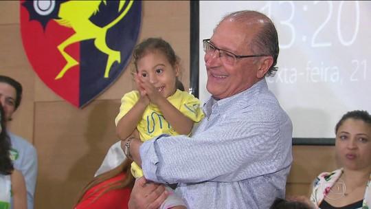 Alckmin propõe reforçar segurança no Nordeste e ações para 'salvar' Rio São Francisco