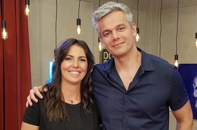 Glenda Kozlowski e Otaviano Costa (Foto: Divulgação)