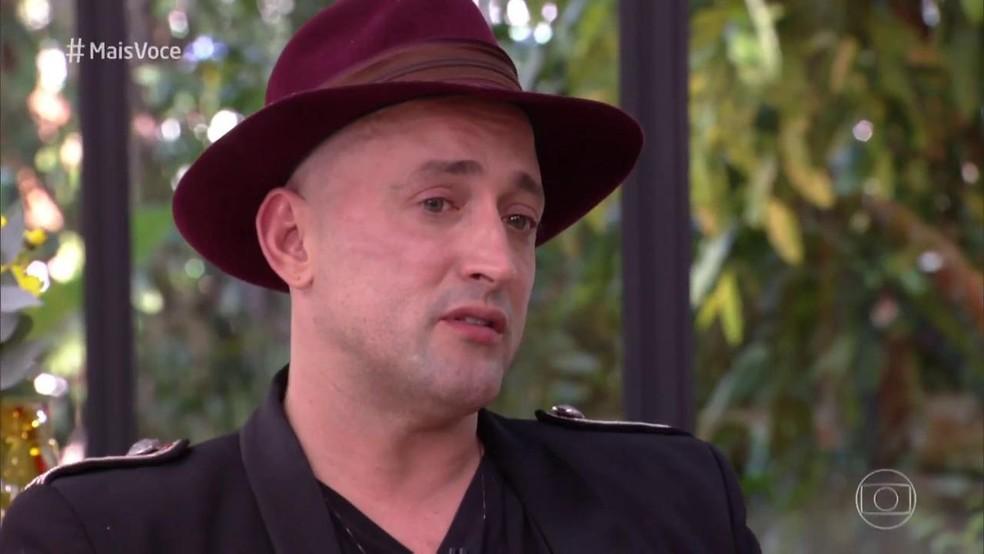Paulo Gustavo se emocionou ao falar da responsabilidade de servir de inspiração para outras pessoas — Foto: TV Globo