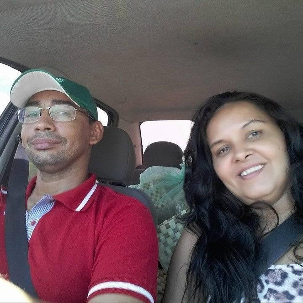 Aremir Gonzaga de Morais e Maria da Saúde morreram em acidente na BR-304, no RN — Foto: Redes sociais