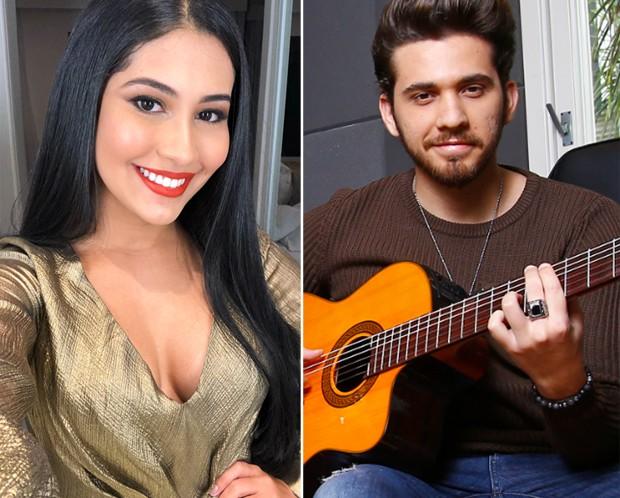 Thaynara OG e Gustavo Mioto (Foto: Reprodução/Instagram/Marcelo Navarro/Ed. Globo)
