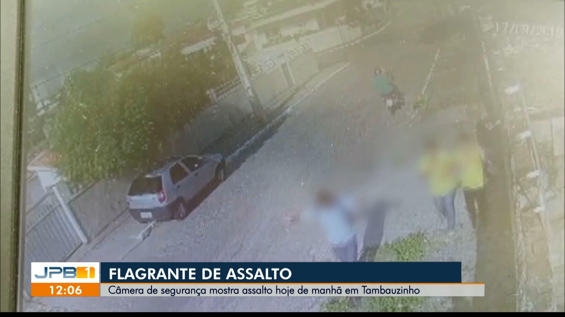 Vídeo flagra assalto próximo a escola, em João Pessoa - Notícias - Plantão Diário