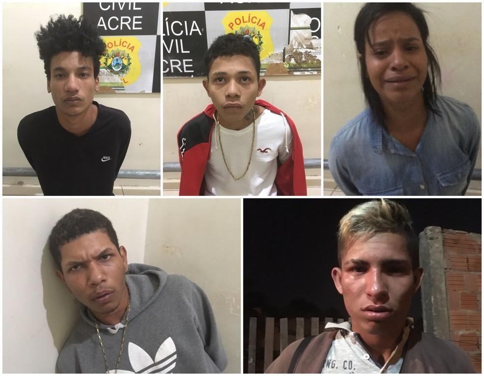 Bando é preso por manter homem em cárcere privado em casa de Rio Branco (Foto: Divulgação/Polícia Civil)