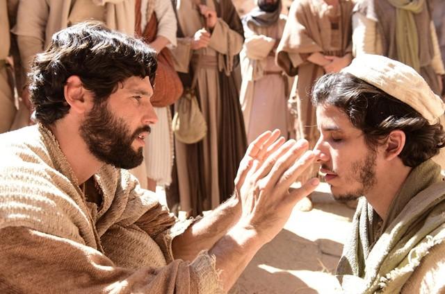 Dudu Azevedo e Ricky Tavares em 'Jesus' (Foto: Blad Meneghel/ Record)