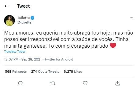Juliette Freire gravará o 'Música boa ao vivo' com Ivete Sangalo (Foto: Reprodução)