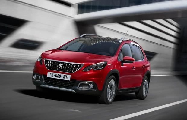 Peugeot 2008 Ganha Novo Visual Para Sal 227 O De Genebra