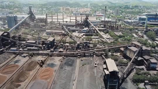 Teresa Freitas conheceu processos do aço, em Volta Redonda