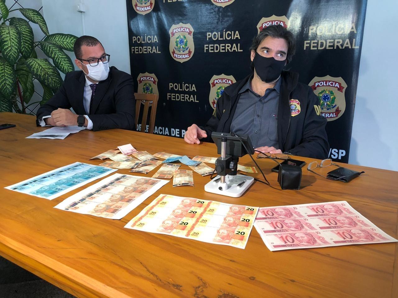 Laboratório de cédulas falsas desmantelado era um dos maiores do país, segundo Polícia Federal