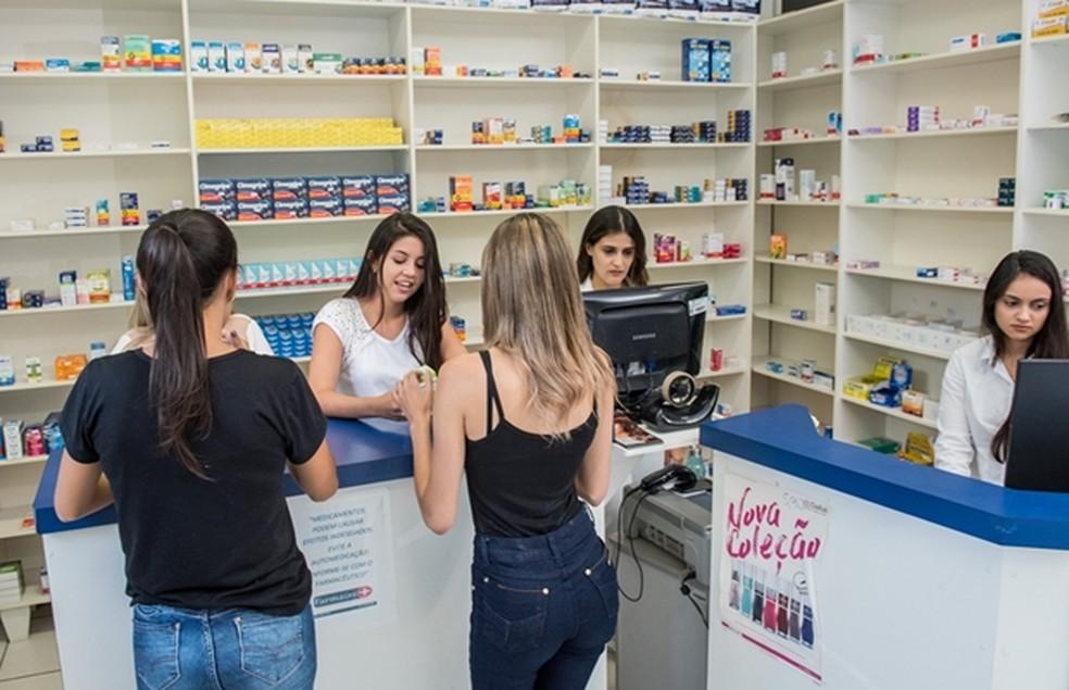 A FarmaUni é a Farmácia Escola da Univiçosa, localizada à Avenida Maria de Paula Santana, nº3815, Silvestre - Viçosa/MG — Foto: AsCom/Univiçosa