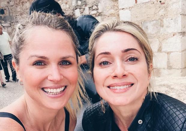 Susana Werner e Letícia Spiller (Foto: Reprodução / Instagram)