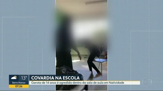 Adolescente é agredida dentro da sala de aula em Natividade, no Norte do estado