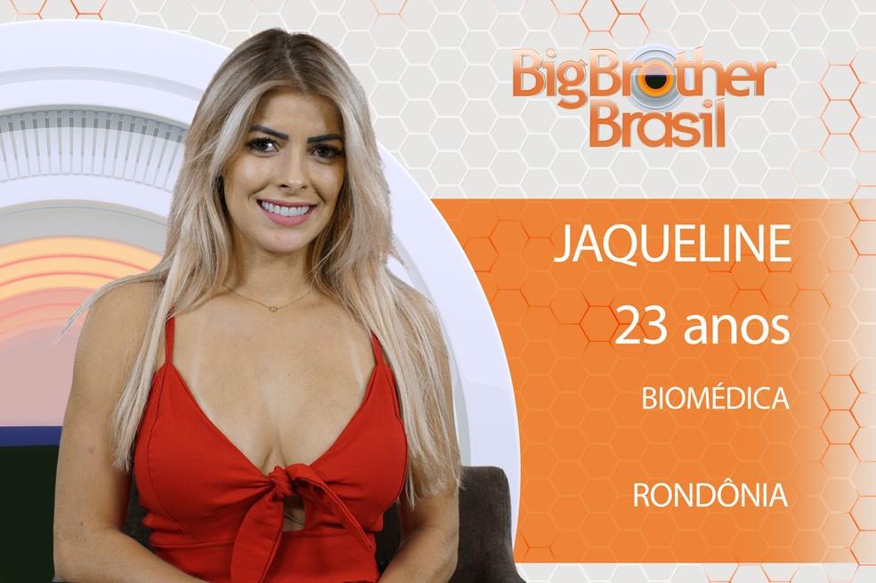 Jaqueline é participante do 'BBB18' (Foto: Divulgação)