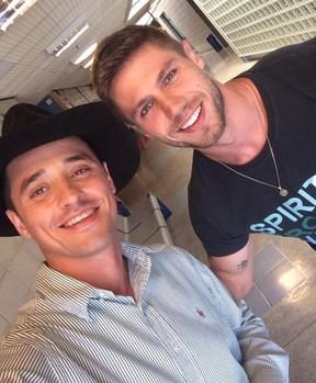 Fael Cordeiro e Jonas Sulzbach: amigos até hoje (Foto: Reprodução/Instagram)