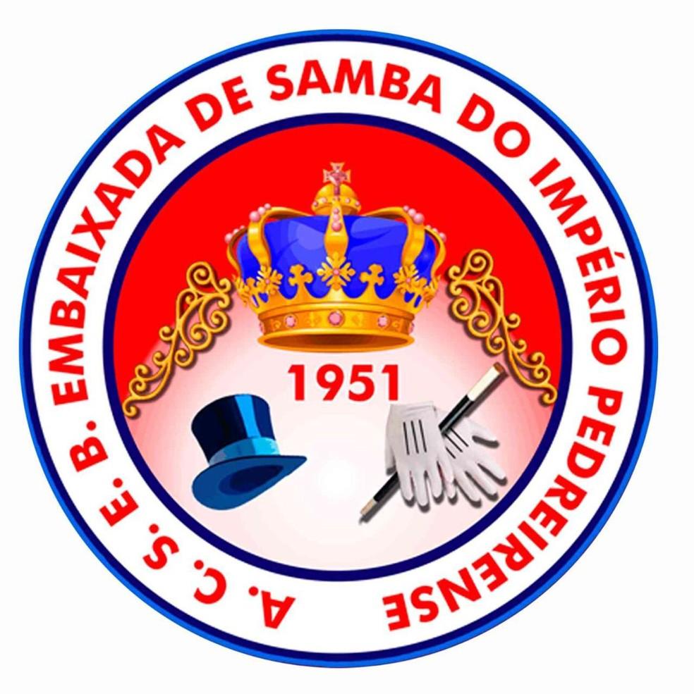 Embaixada de Samba do Império Pedreirense — Foto: Reprodução