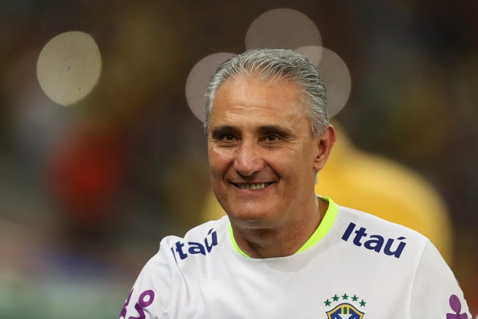 Brasil de Tite pode superar o recorde da Argentina em 2002. Para isso, precisa vencer os três jogos que lhe restam nas eliminatórias (Foto: Lucas Figueiredo/CBF)
