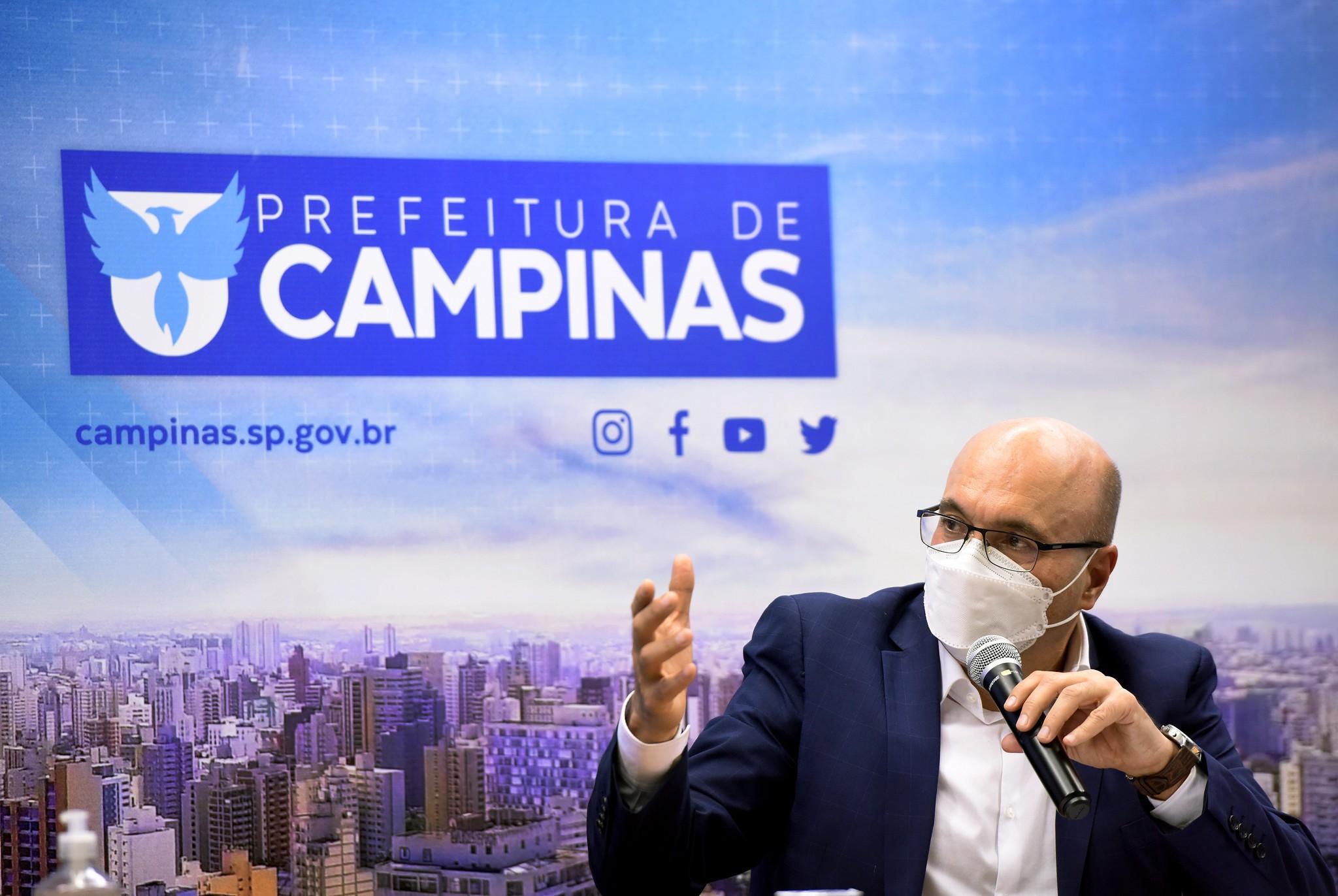 Prefeito de Campinas, Dário Saadi cancela agenda pública após ter sintomas gripais