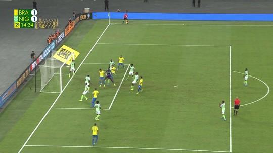 Assista aos melhores momentos de Brasil 1 x 1 Nigéria