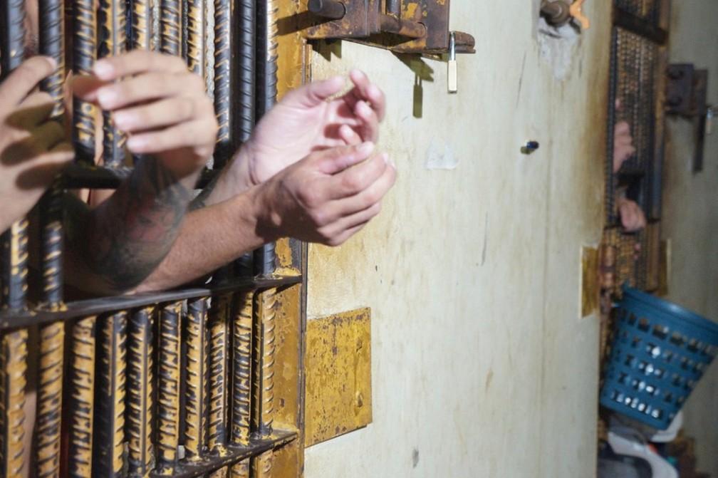 Implantação do RDD foi uma das principais medidas tomadas para conter a atuação de chefes dentro do sistema penitenciário no Acre — Foto: Divulgação Iapen