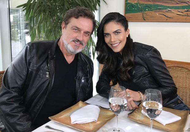 Werner Schünemann e Daniela Albuquerque (Foto: Divulgação/RedeTV!)