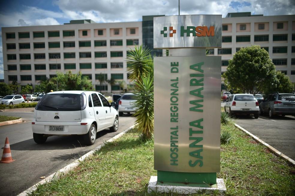 Hospital Regional de Santa Maria, no Distrito Federal, em imagem de aquivo — Foto: Andre Borges/Agência Brasília