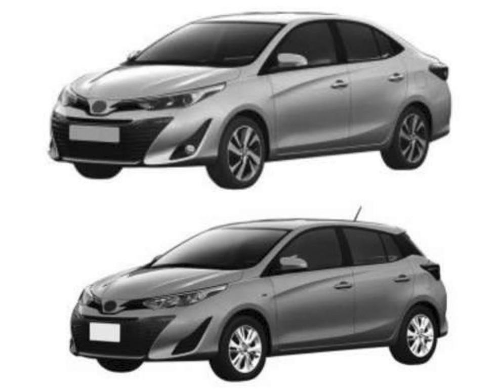 Registro do Toyota Yaris no Brasil (Foto: Reprodução)