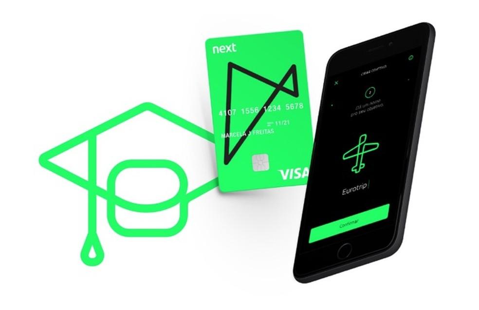 Next oferece planos sem tarifas e uma modalidade de serviço especial para universitários — Foto: Divulgação/Next