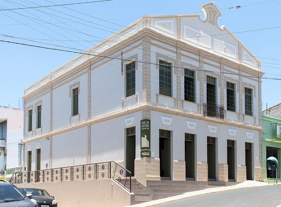 Casa da Cultura de Salgueiro — Foto: Arquivo pessoal/ Héliton Araujo