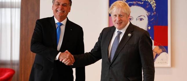 Bolsonaro e Boris Johhson