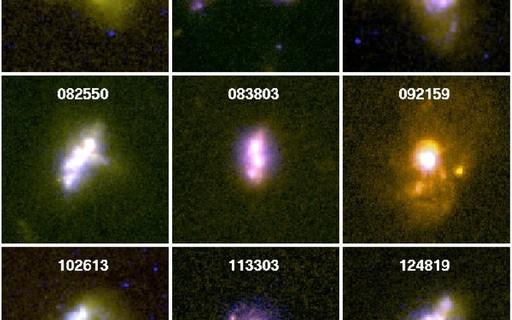 """Brasileiros descobrem como """"ondas"""" de gás mudam composição de galáxias"""