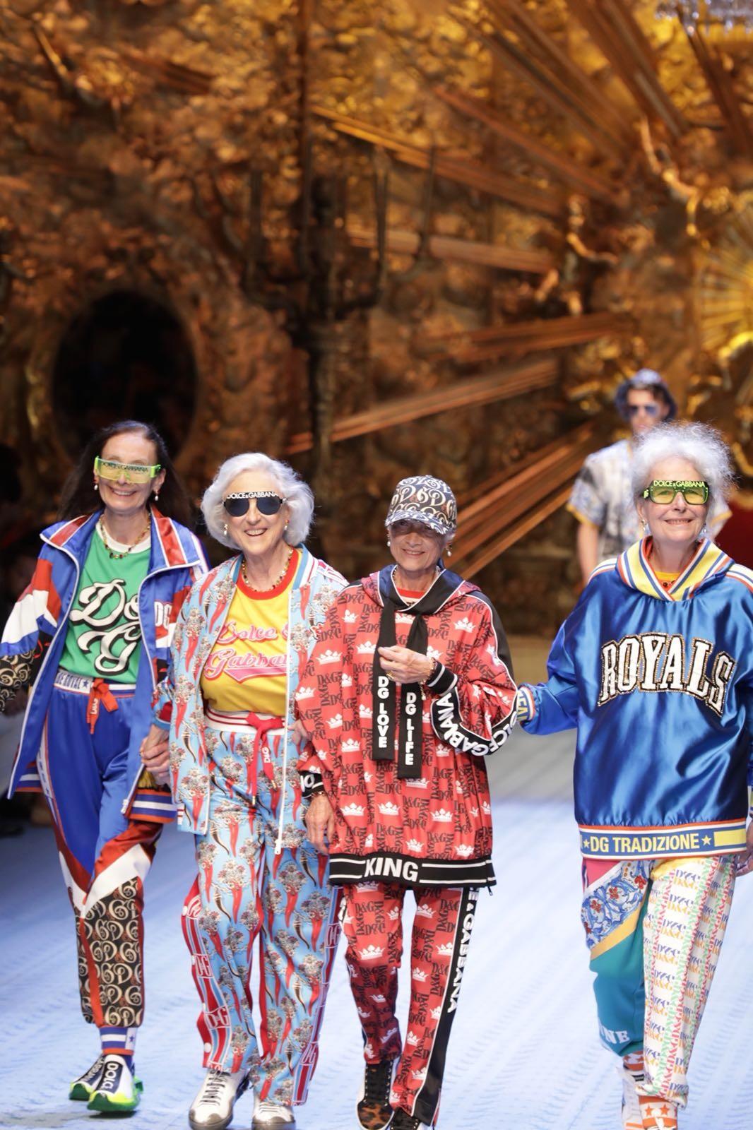As modelos da melhor idade (Foto: Gerson Lírio/Fashion To Max)