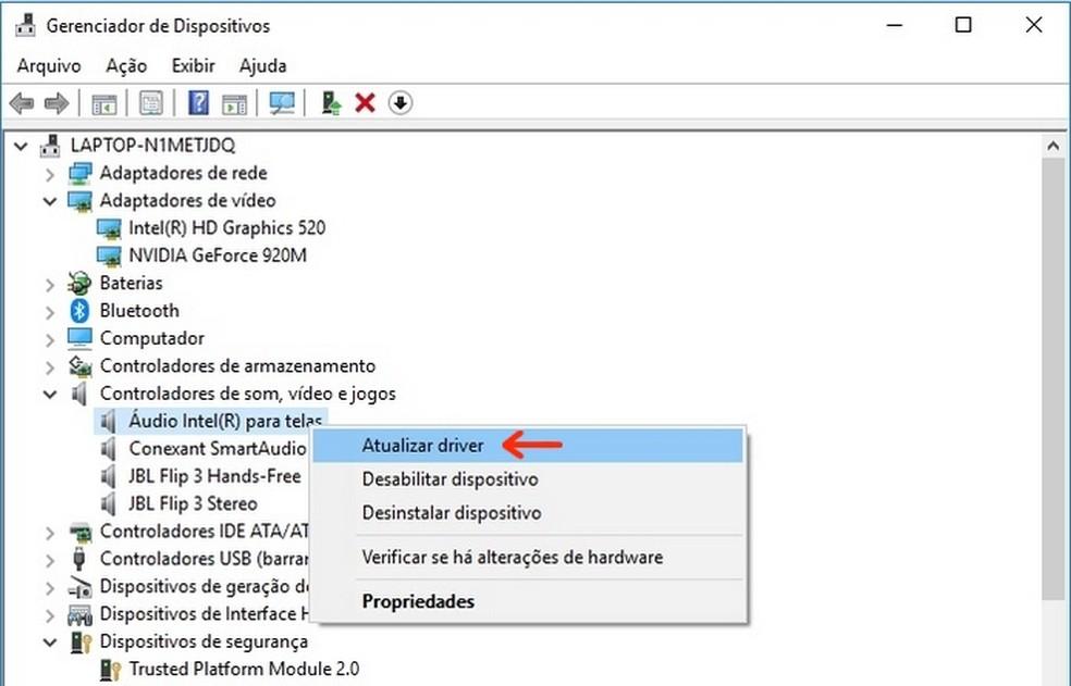 Atualização de driver antes da atualização para Windows 10 pode impedir tela azul (Foto: Reprodução/Raquel Freire)