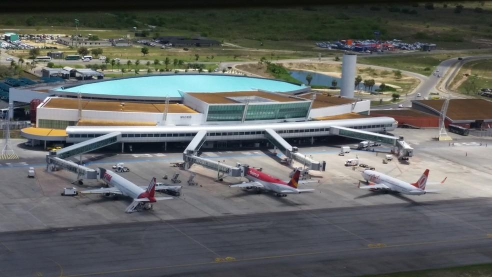 Aeroporto Internacional Zumbi dos Palmares vai novas 8 conexões a partir de julho  — Foto: Infraero/Divulgação