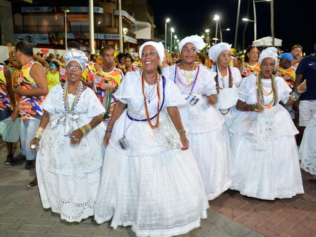 Grupo Samba Popular no Fuzuê (Foto: Max Haack/Ag. Haack)