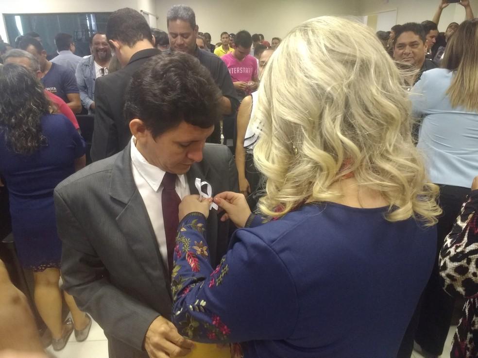 -   Papo de homem  quer conversar com público masculino sobre violência contra a mulher  Foto: Fabiana Figueiredo/G1