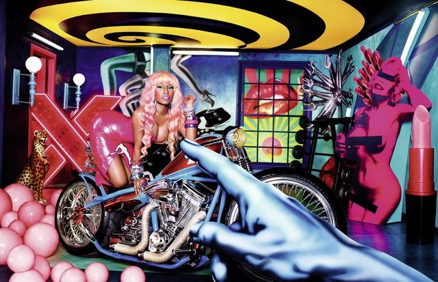 Nicki Minaj pelas lentes de David LaChapelle (Foto: Divulgação)