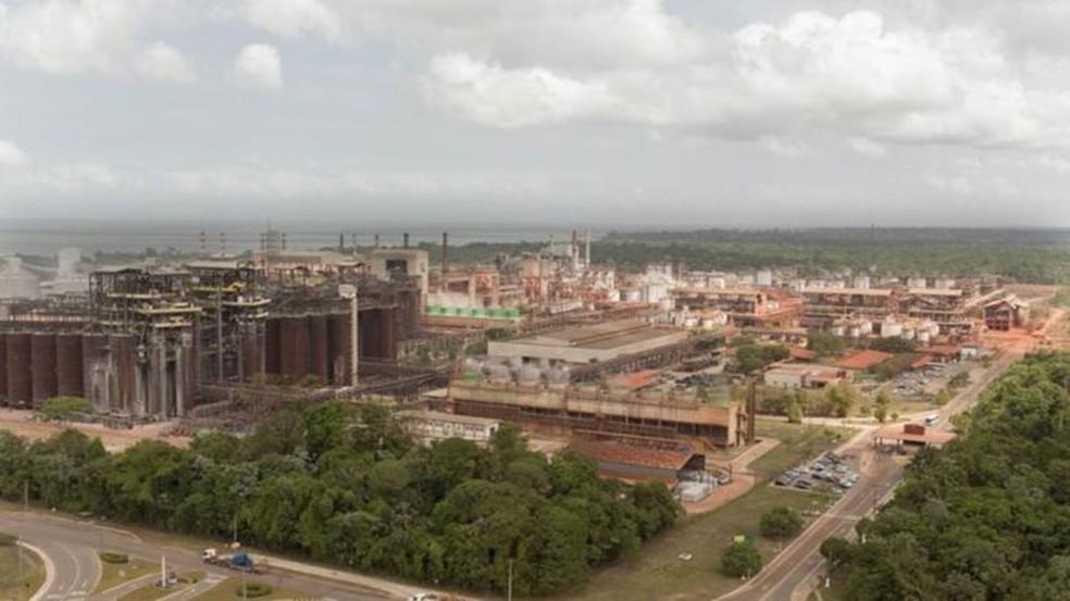 Mineradora é alvo de quase 2 mil processos judiciais pro contaminação (Foto: Joao Ramid/Hydro/Alunorte)